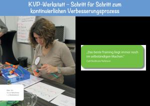 KVP-Werkstatt (Flyer)